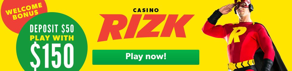Rizk Casino Nz welcome bonus
