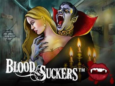 Blood Suckers pokie logo bnous
