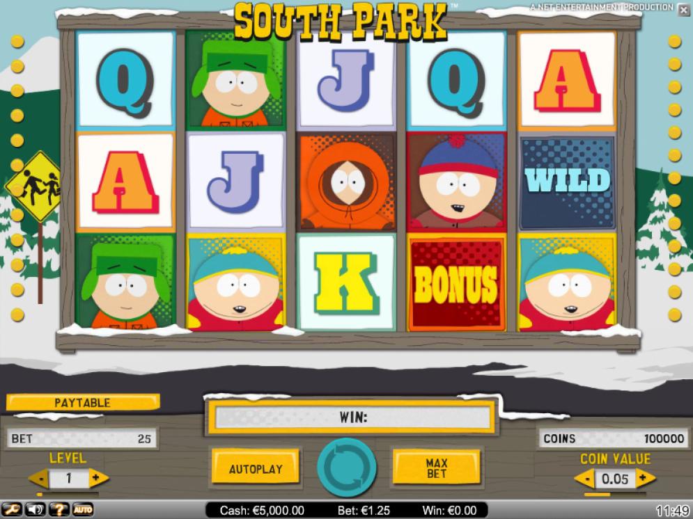 Sout Park Slot bonus