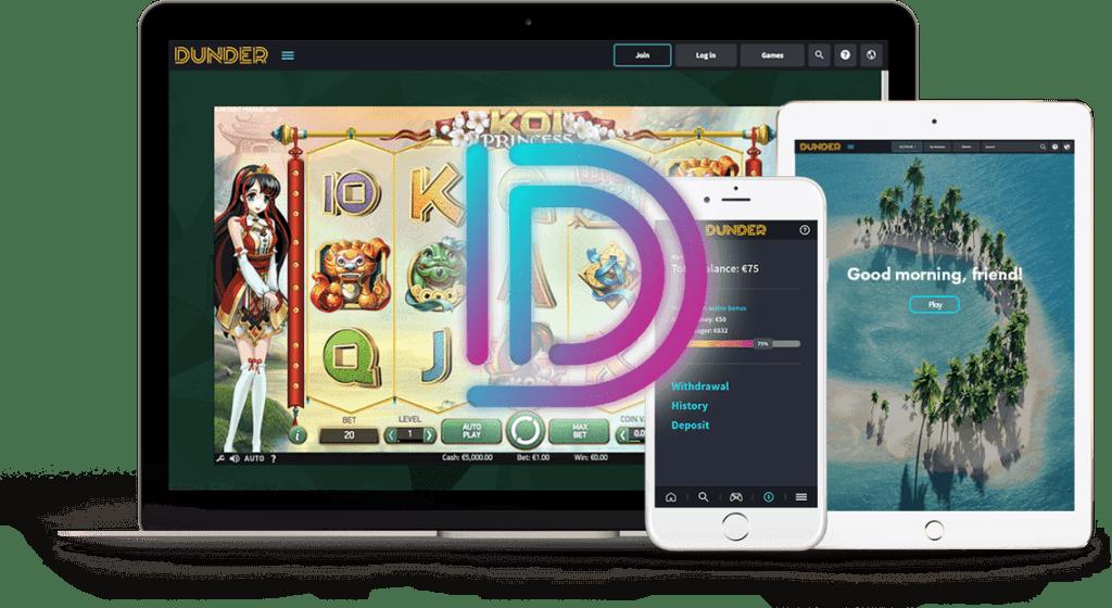 Dunder Casino No Deposit Bonus