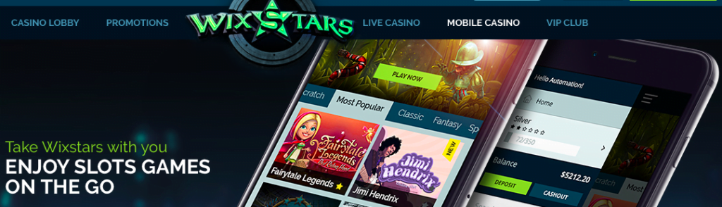 Wixstars Free Spins NZ