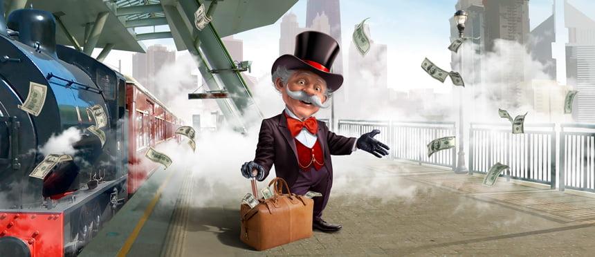 Billion Casino - Money man