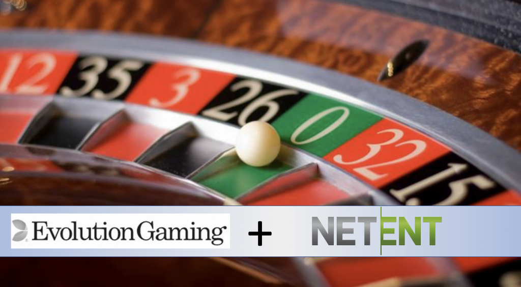 Evolution Gaming and NetEnt