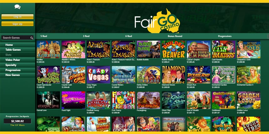Fair Go Casino Bonus and Free Spins