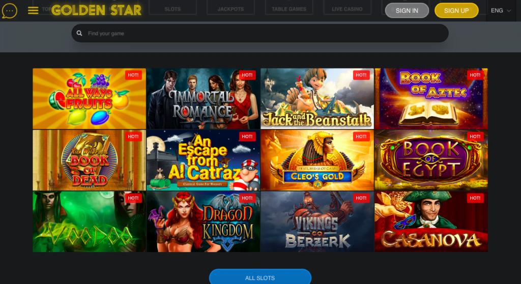 Golden Star Casino Free Spins NZ