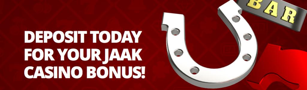 Jaak Casino free bonus
