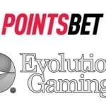 PointsBet and Evolution