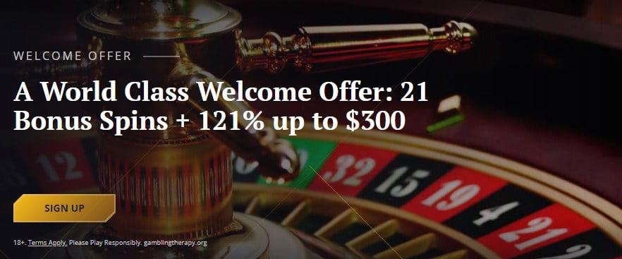 21 casino bonuses