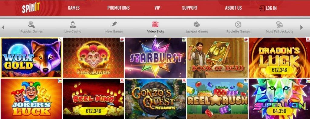 Spinit Casino slots