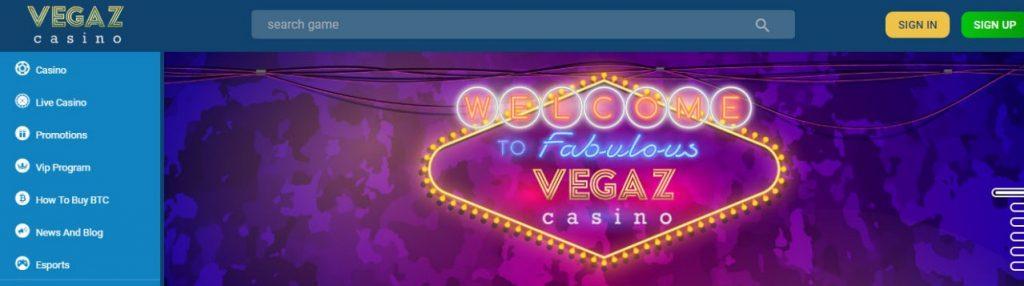 vegaz casino layout