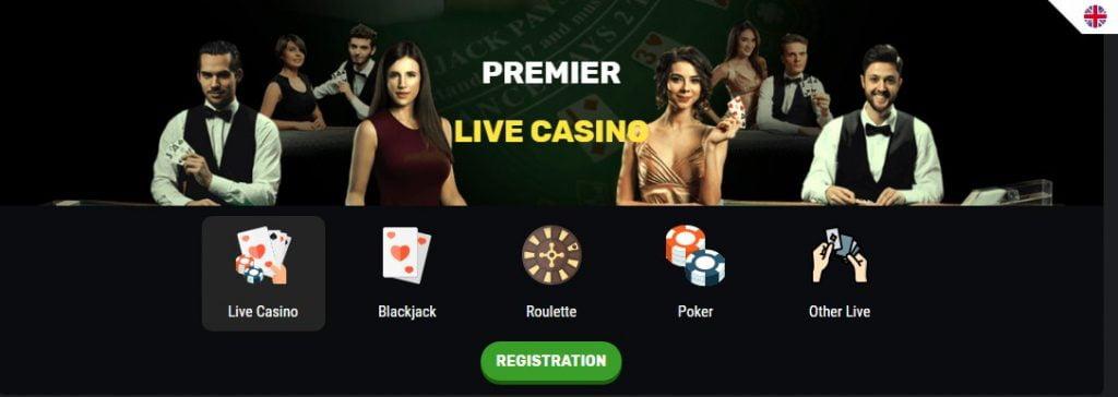 BeAmo live casino