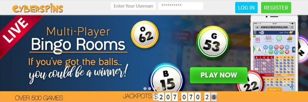 CyberSpins casino