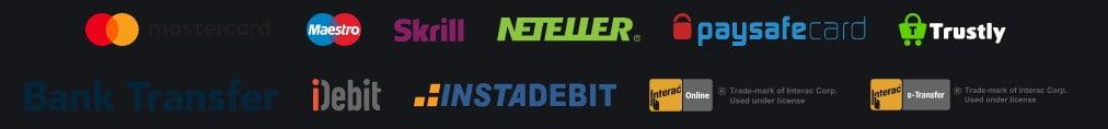 BetAmo payment methods