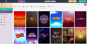 Wishmaker Free Spins NZ