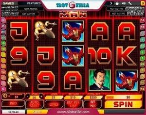 iron man slot game