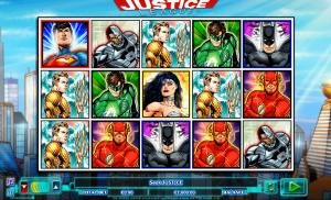 justice league slot game