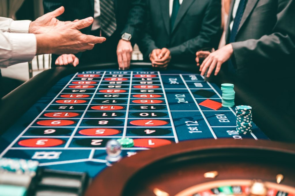 people playing casino