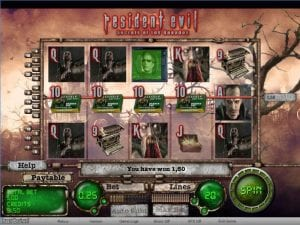 resident evil slot game