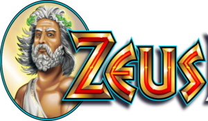 logo for the game zeus